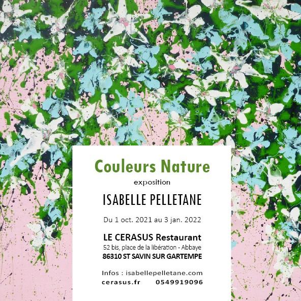 Exposition au Cerasus d'Isabelle Pelletane